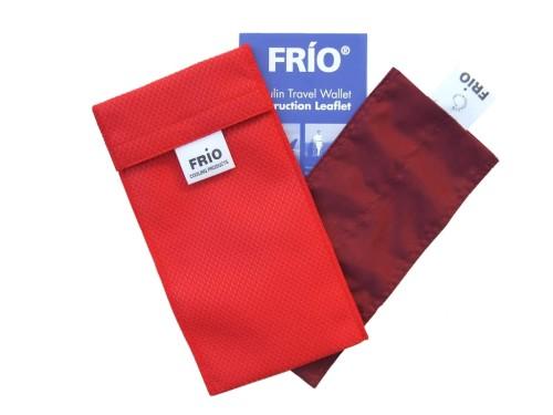 Podwójne Etui Frío Czerwone Etui Frio System Chłodzenia Insuliny